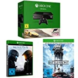 Xbox One 500GB Forza Horizon 2 + Halo 5: Guardians + Star Wars Battlefront - Day One Edition