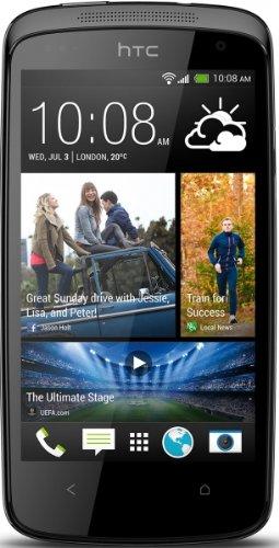 HTC Desire 500 Smartphone (8 Megapixelkamera, 10,9 cm (4,3 Zoll) Display, 1,2GHz, Quad-Core Prozessor, Android) glossy black Htc Audio