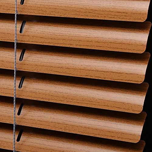 Tende in Legno Faux Tenda A Rullo con Filo Premium Tenda da Ombreggiatura Orizzontale Tende Romane, Tagliate su Misura (Dimensioni : 70x90cm)