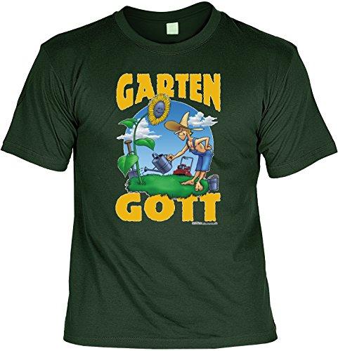 Witziges T-Shirt Garten-Gott (Zum Frauen Kostüm Von Gott)