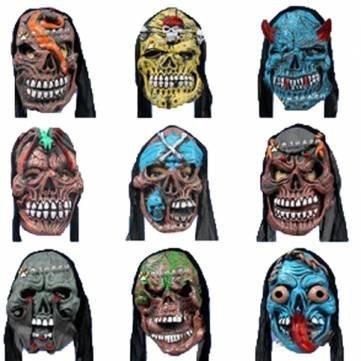 ade Partei Teaser Maske Halloween Horror Scary Mask (Lustige Maskerade-masken)