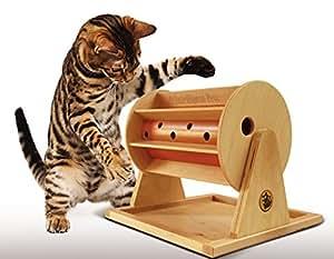 Katzen Glücksrad - Schadstofffrei- Erzeugt in EU - Interaktives- Katzenspielzeug
