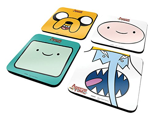 Adventure-Time-Untersetzer-Set