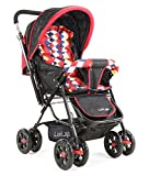 Luvlap Sunshine Baby Stroller (Red Checks)