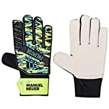 adidas Kinder PRED TRN J MN Soccer Gloves, solar Yellow/Bright Cyan/Black, 5