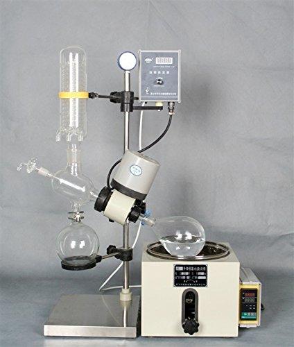 Triple-kondensator (Professionelle 0,252L lab rotovap Rotary Verdampfer Verdunstung Apparat, 220V)