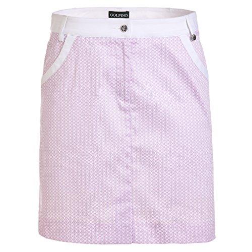 golfino-damen-golfrock-mit-modischem-allover-print-in-regular-fit-rosa-m