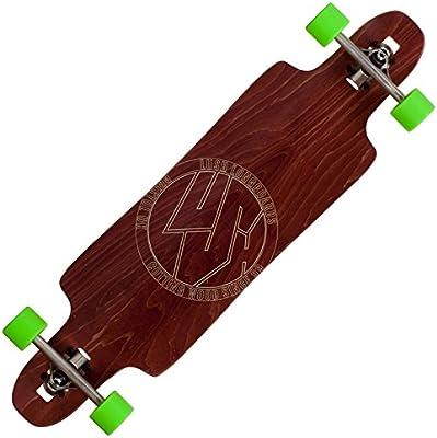 Longboard completo exuberante freebyrd madera completo