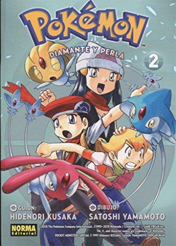 Pokemon 18. Diamante y Perla 02 por Satoshi Yamamoto Hidenori Kusaka