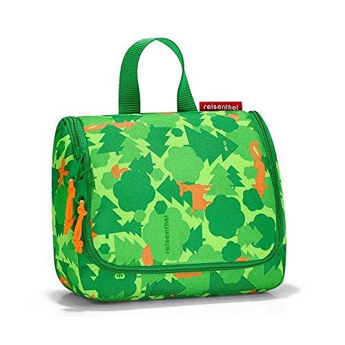 Reisenthel toiletbag Kosmetiktäschchen, 18,5 x 16 x 7 cm, 1.5L, Greenwood (Make-up Tasche Erweiterbar)
