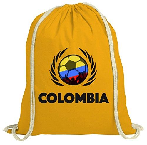 Colombia Crest Calcio Football Wm Fanfest Gruppi Fan Natura Palestra Borsa Palestra Calcio Colombia Giallo Natura