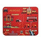Mousepad Red Mumbai Meri Jaan