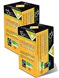 Touch Organic - Thé blanc à l'abricot bio - lot de 2 Boites de 24 Sachets