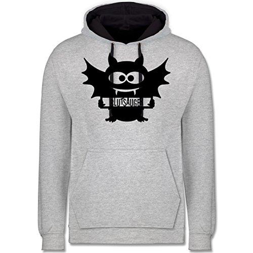 Shirtracer Halloween - Fledermaus - XL - Grau -