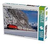 EKOL-KLV im Schnee 1000 Teile Puzzle quer: Mit dem SKGAG 43581 aus Ostrava ist die 1116.095 bei Mitterberghütten im Salzburger Pongau in Richtung Süden unterwegs. (CALVENDO Mobilitaet)