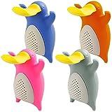Tee Infusers für lose Blatt Tee, FineGood Teekugeln Set von 4 Pack Platypus Silikon Tee Filter Siebe