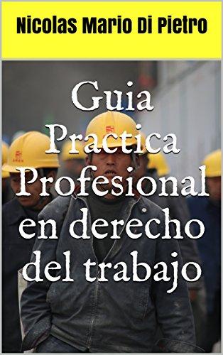 Guia Practica Profesional en derecho del trabajo por Nicolas Mario Di Pietro