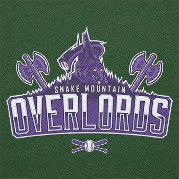TEXLAB - Snake Mountain Overlords - Herren T-Shirt Flaschengrün