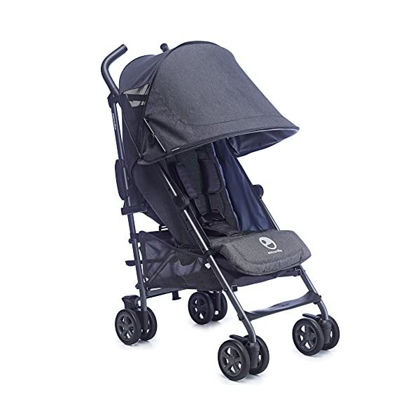 Easywalker Buggy, Berlin Breakfast  Suitable from birth 5 point 3 position harness Four recline positions with near flat recline 3