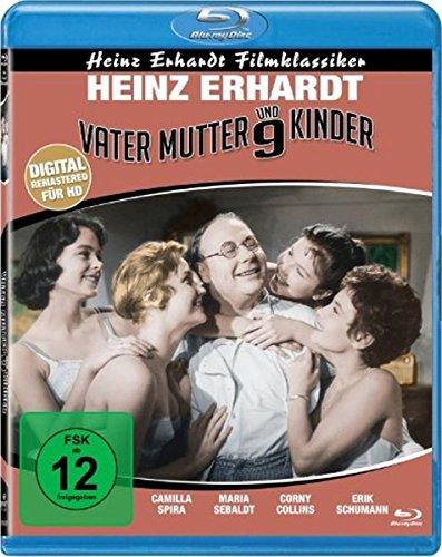 Vater, Mutter und neun Kinder (Heinz Erhardt Filmklassiker) (Blu-ray)