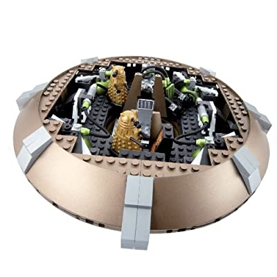 Character Building Doctor Who Dalek Spaceship Set