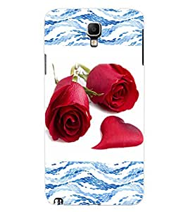 ColourCraft Beautiful Roses Design Back Case Cover for SAMSUNG GALAXY NOTE 3 NEO N7505