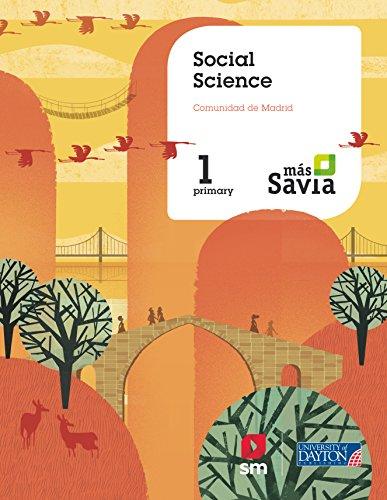 Social science. 1 Primary. Más Savia. Pupil's Book. Madrid por Ediciones SM