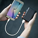 Anker PowerLine+ Micro USB (1ft) The Premium, Fastest, Most Durable Cable [Kevlar Fiber & Double Braided Nylon] for Samsung, Nexus, LG, Motorola, Android Smartphones and More
