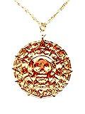 Fluch der Karibik Halskette Azteken Gold Pirates of the Caribbean Jack Sparrow Elizabeth Swan Kette