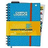 CampusLogbuch 2019/20: Semesterplaner, Terminkalender, Notizbuch, Organisationstool, Lifehacks / A5 / Spiralbindung / Campus Logbuch -