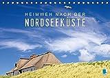 Heimweh nach der Nordseeküste (Tischkalender 2016 DIN A5 quer): Die Nordseeküste: Am Schelfmeer zwischen Borkum und Sylt (Monatskalender, 14 Seiten) (CALVENDO Orte)