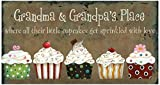 Best Grandpa Sign - Your Hearts Delight Grandma and Grandpa's Place Wooden Review
