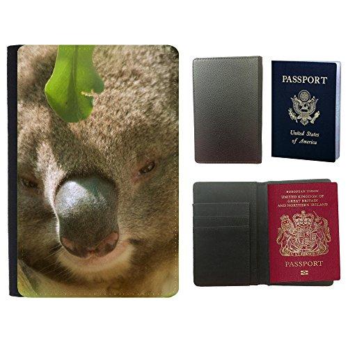 PU Pass Passetui Halter Hülle Schutz // F00032493 Kleiner Panda // Universal passport leather - Passport Panda Cover