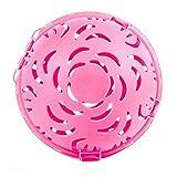 ICYANG 1 Stück Waschball BH Waschkugel Bequem Wash Ball Praktische Bra Schutz Wäsche Protector Kleidung Waschmaschine Unterwäsche Reinigung Werkzeuge,Rosa