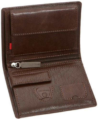 Strellson Waterloo BillFold H7 22/35/08246, Herren Geldbörsen, Braun (dark brown 702), 10x13x1 cm (B x H x T) Braun (dark brown 702)
