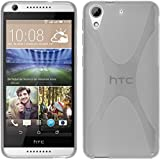 Funda de silicona para HTC Desire 626 - X-Style transparente - Cover PhoneNatic Cubierta Case