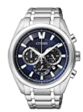Citizen Reloj Analógico para Hombre de Cuarzo con Correa en Titanio CA4010-58L