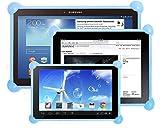 Housse tablette silicone universelle Unitab produit breveté compatible avec toutes...