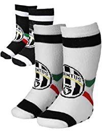 PLANETEX Calze Juve Calzino Corto Bambino Ragazzo Juventus JJ PS 27239-29//34-nero