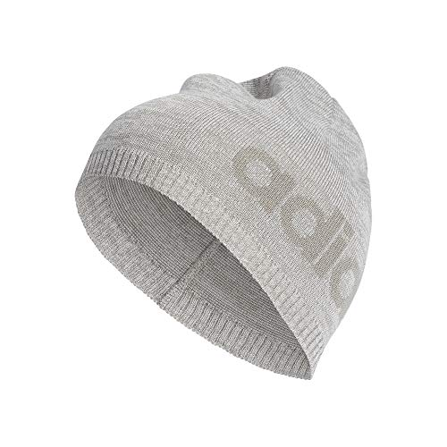 adidas Daily Beanie LT Hat, medium Heather/MGH solid Grey, One Size