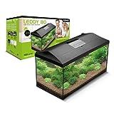 Aquael Aquarium 54l 60* 30* 30cm C/Zubehör LEDDY Plus Set Pap 60Schwarz