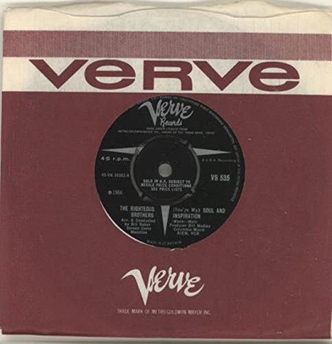 Righteous Brothers, The - You're My Soul And Inspiration - (Generic Sleeve) - Verve Records Verve Sleeve