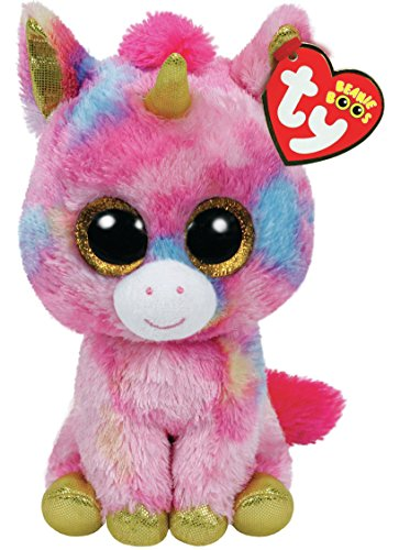 Beanie Boo Unicorn - Fantasia - Multicoloured - 15cm 6""