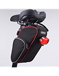 ROSWHEEL Tija Bolso de bicicleta bolsa trasera de cola paquete Bolsa de Silla plegable para al aire libre ciclismo bici bike bicicleta