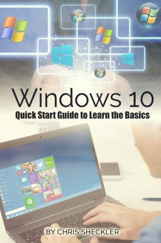 Preisvergleich Produktbild Windows 10: Quick Start Guide to Learn the Basics