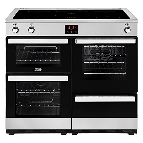 Belling COOKCENTRE 100 Ei Freestanding 161L A Stainless Steel – Kitchen (Freestanding, Stainless Steel, Buttons, Rotary, Front, Large, Electric)