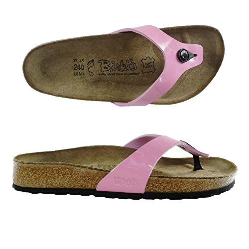 BIRKI'S BIRKENTSOCK MARTINA INFRADITO DONNA ciabatte sandali scarpe NORMAL (38, GLIMMER HEART ROSE)