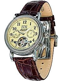 Ingersoll Herren-Armbanduhr Tecumseh Chronograph Automatik Leder IN1825CR