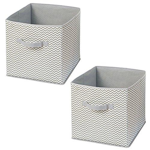 interdesign-chevron-fabric-closet-storage-organizer-cube-for-toys-sweaters-accessories-set-of-2-taup