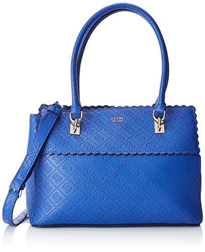 Guess Bags Hobo, Sacs portés épaule femme, Bleu (Blue), 14.5x24x32 cm (W x H L)